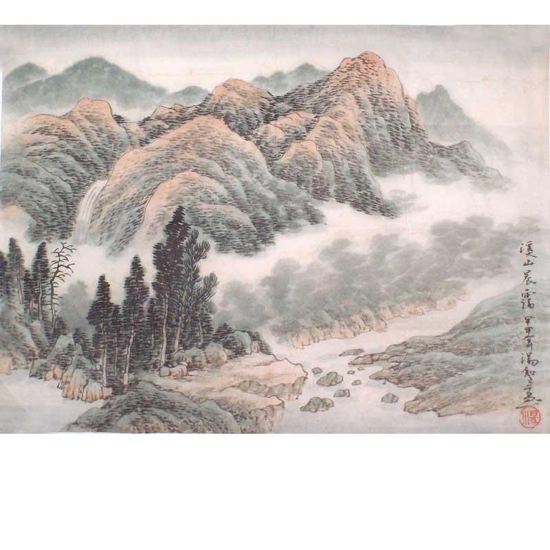 汤知辛-春水图